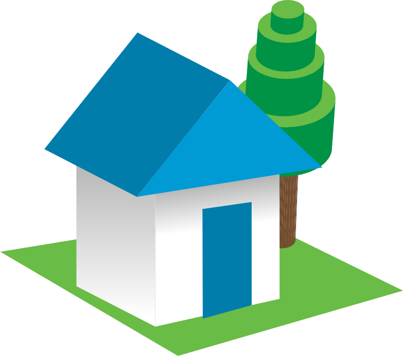 Home clipart place.  d house houses