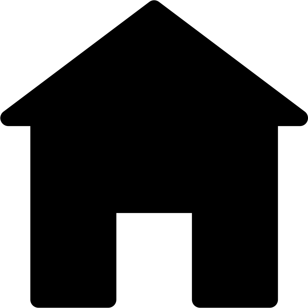 Home clipart silhouette. House roof at getdrawings