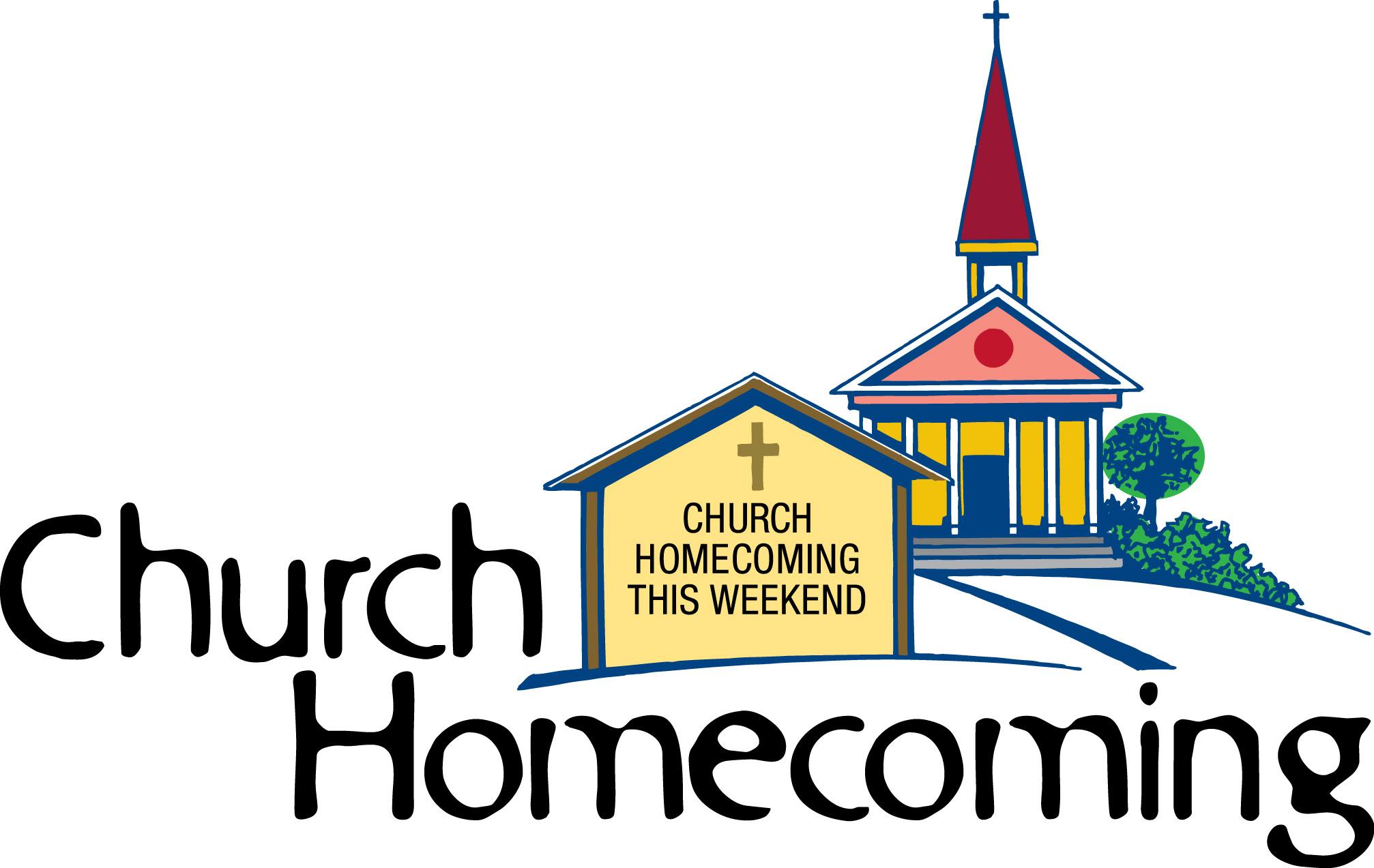 Homecoming clipart. Church