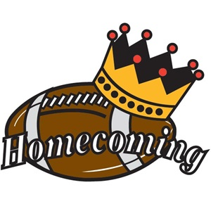 Image result for football. Homecoming clipart