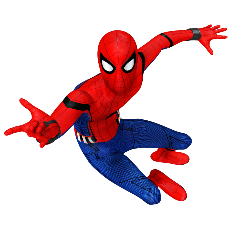 Spider clipart spiderman spider. Man homecoming render by