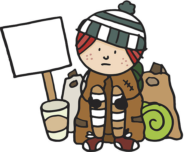 Homeless clipart.  collection of helping