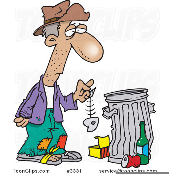 Help the free images. Homeless clipart