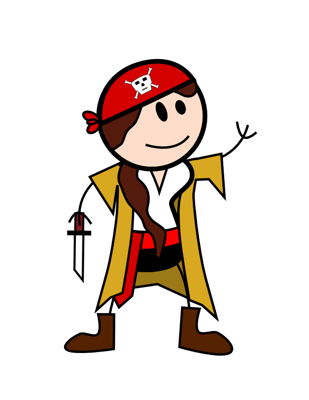 Order of the stick. Thumb clipart well done