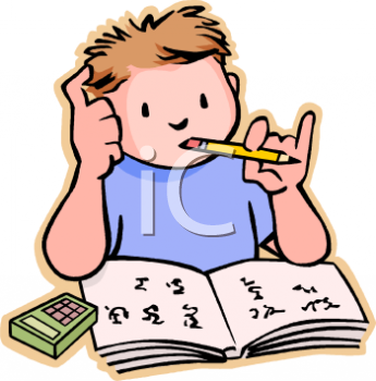 Homework clipart. Clip art for kids