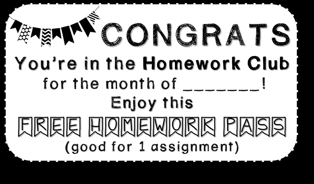Sharp in second the. Homework clipart homework club