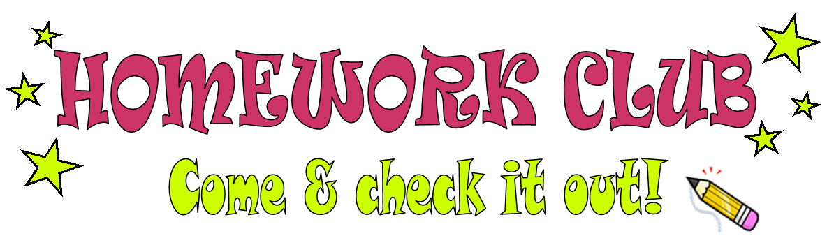 Homework clipart homework club. Plumstead manor school library