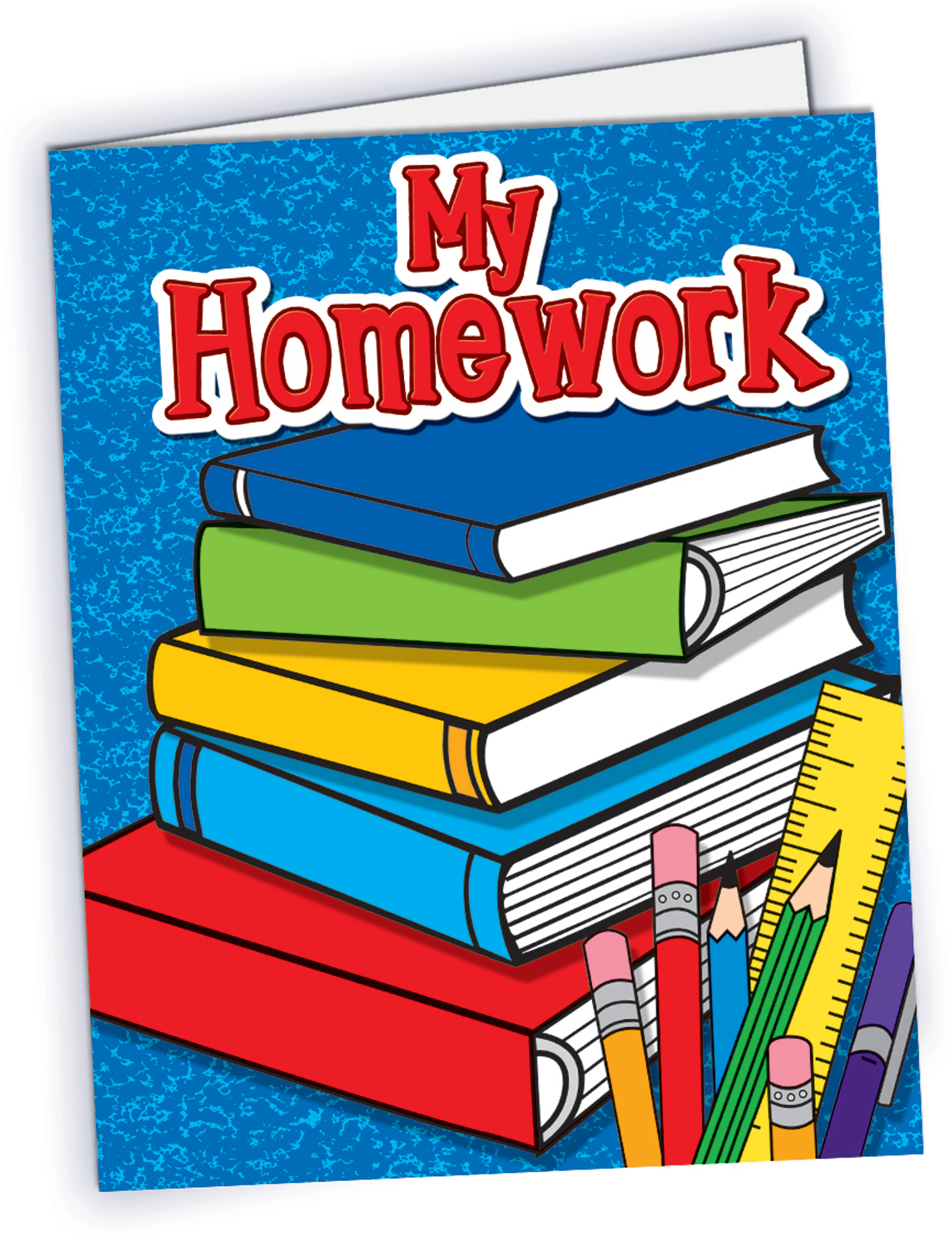 . Homework clipart homework folder