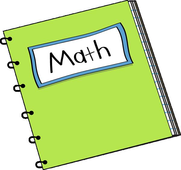 Textbook clipart geometry book. Math homework paper
