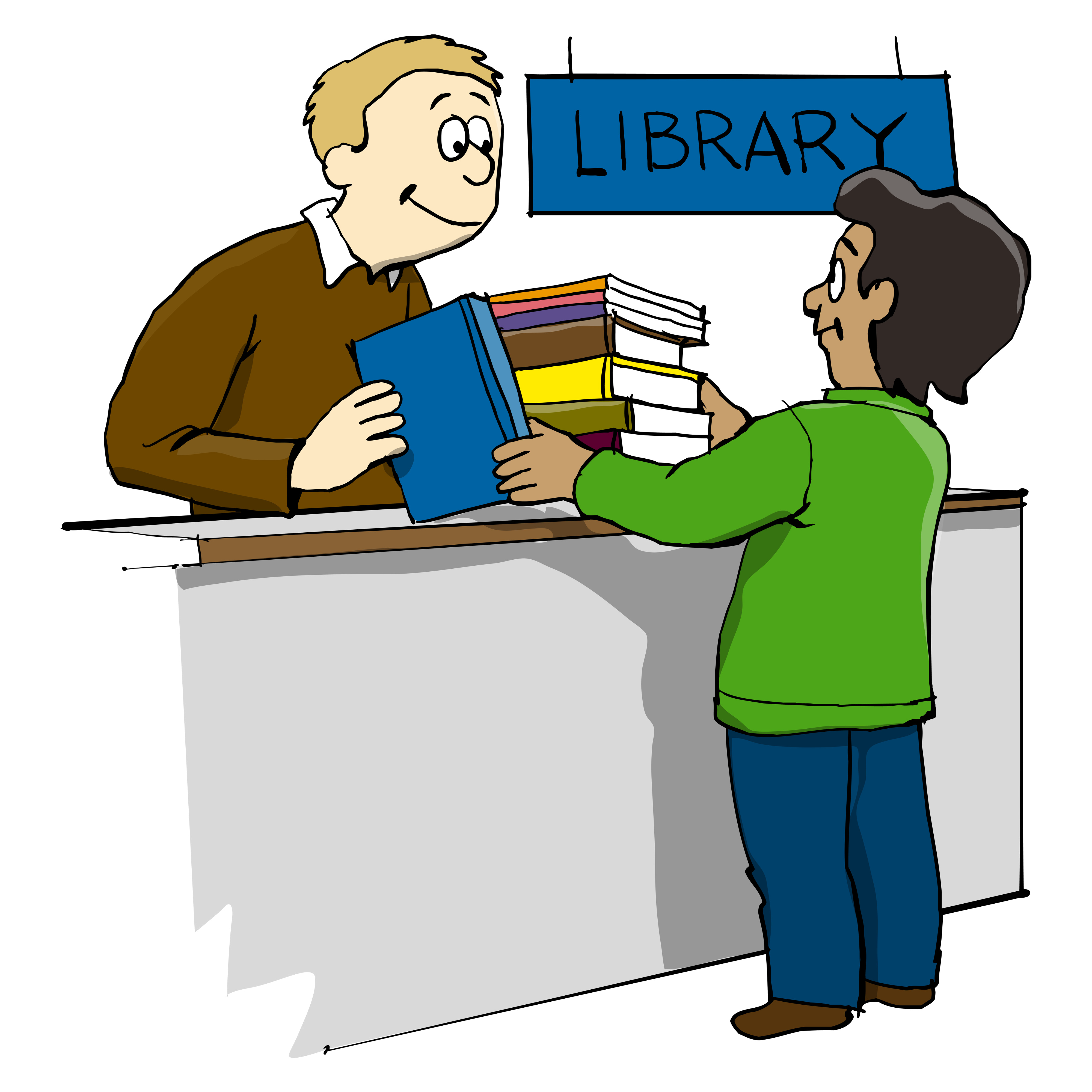 Author advice jennifer m. Librarian clipart old school