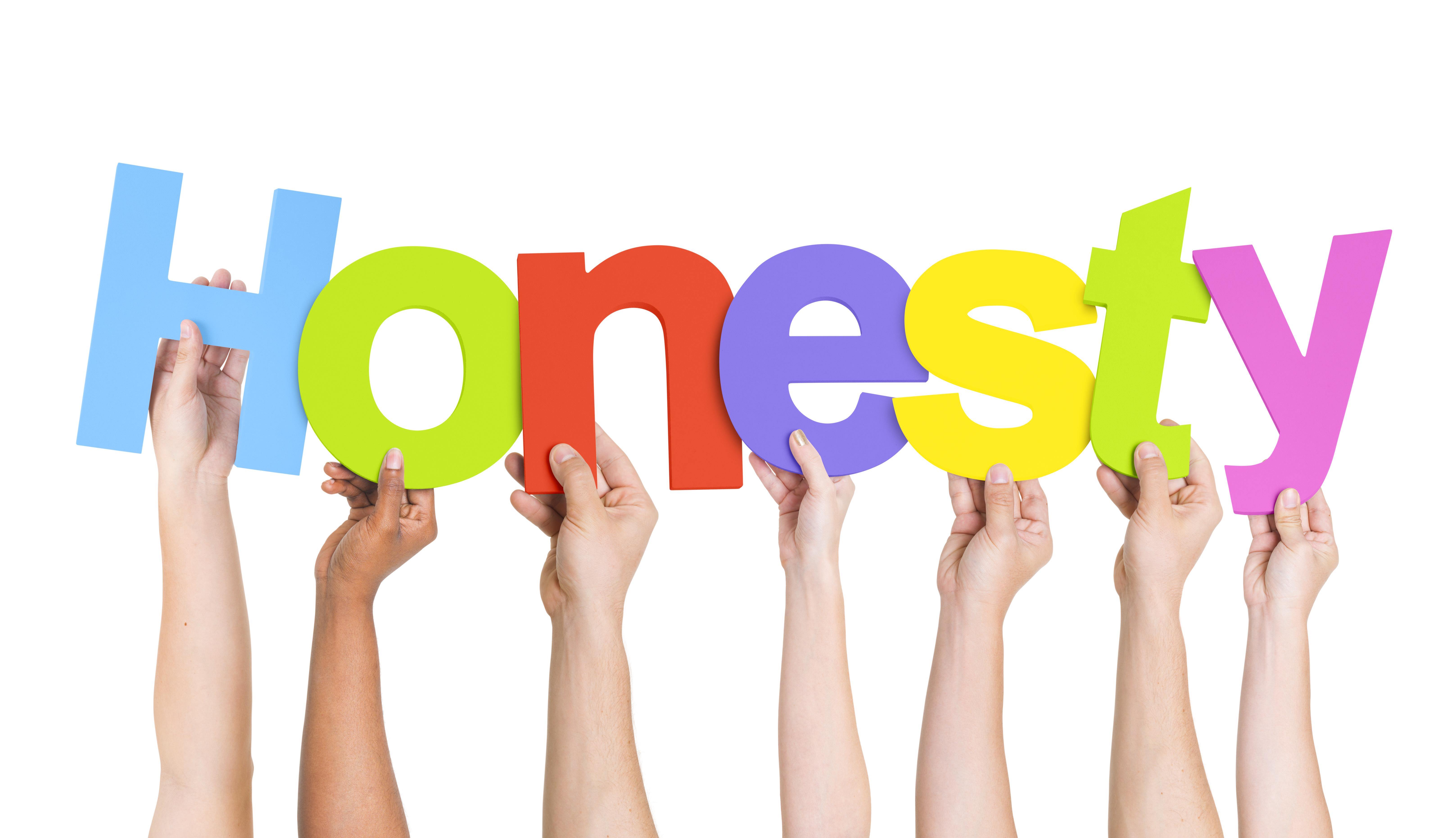 Encouraging children to be. Honesty clipart honesty word