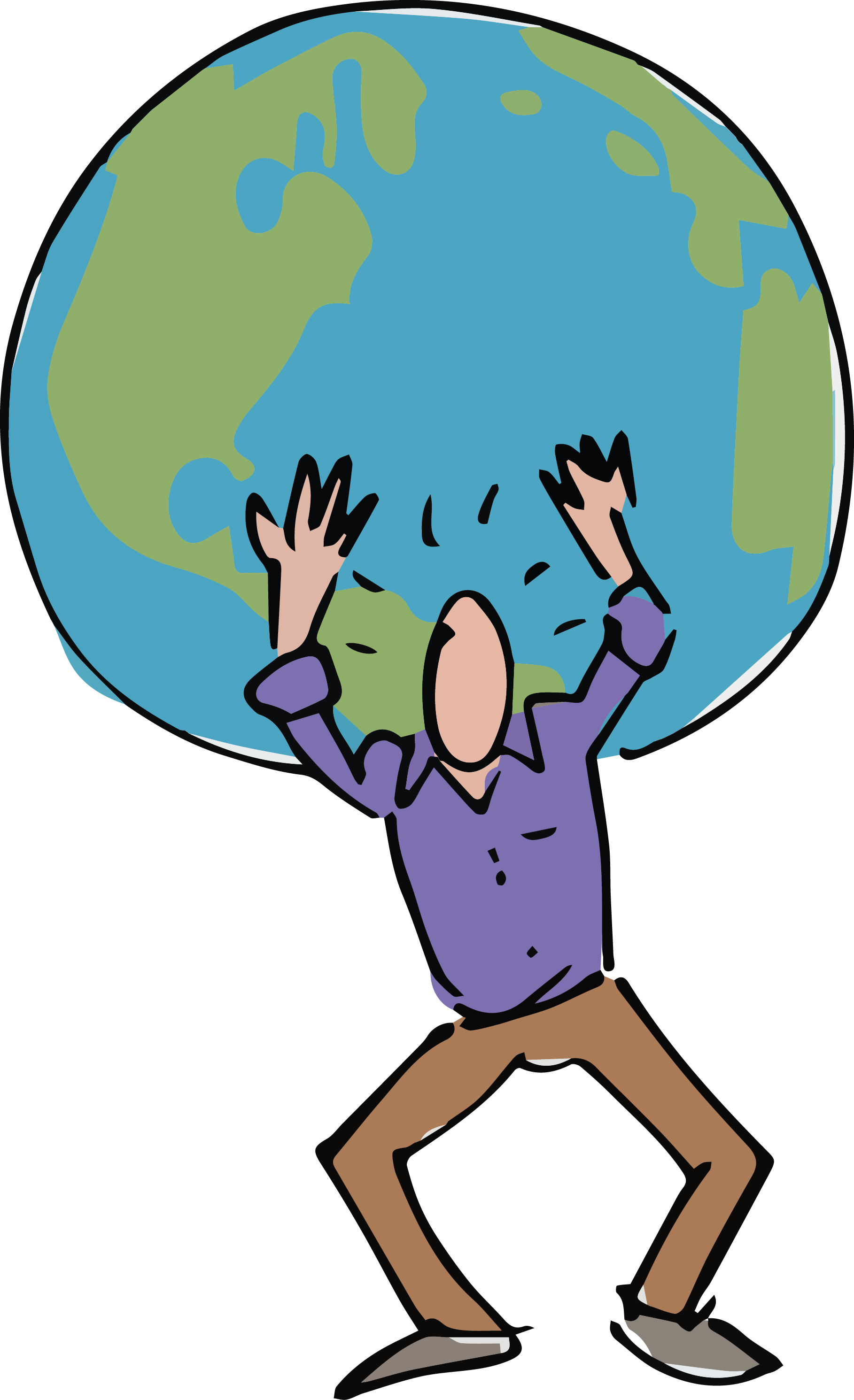 Atlas cared blog. Honesty clipart altruism