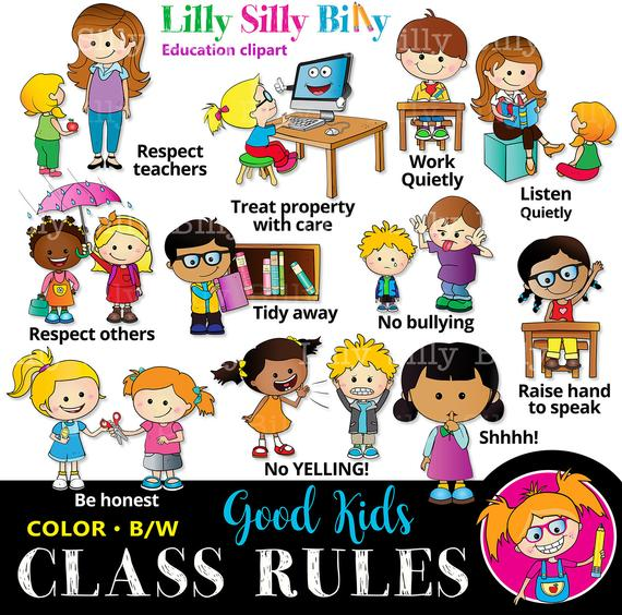 Honesty clipart copying. Classroom rules black and