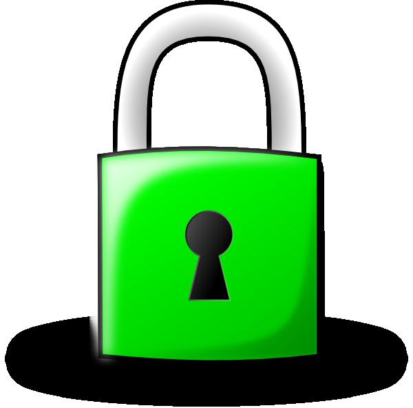 Lock clipart transparent. Pad green clip art
