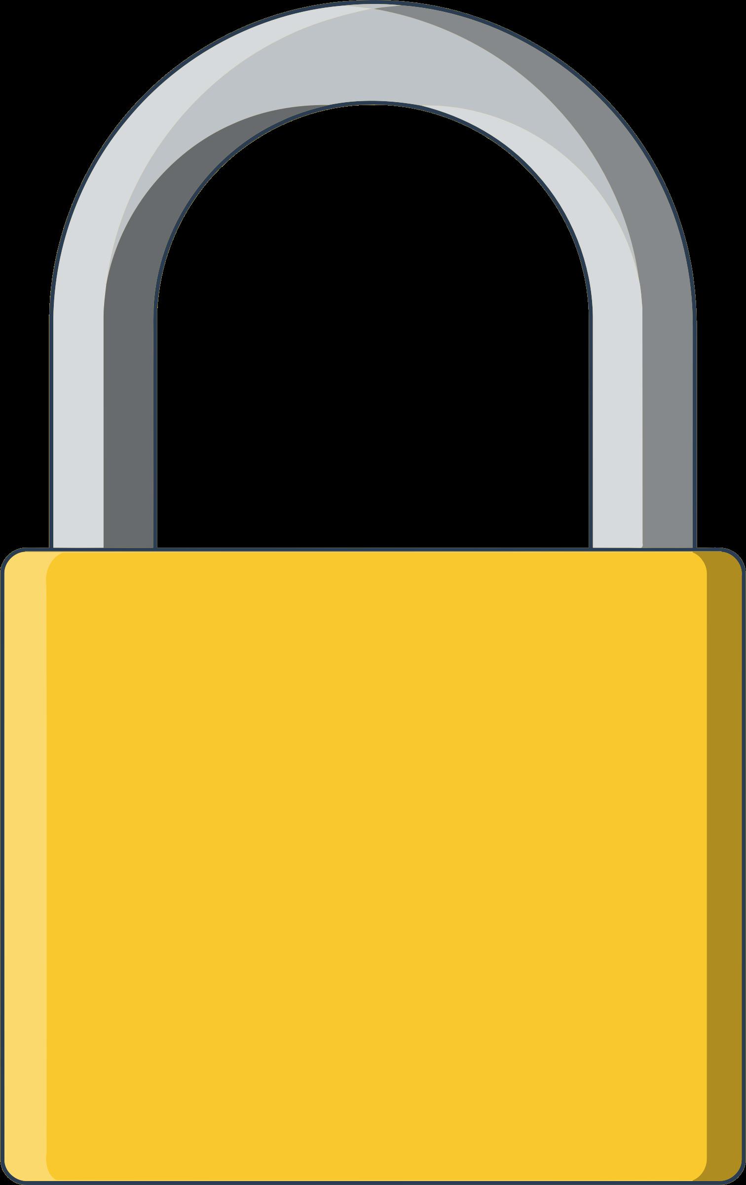 Lock clipart lock chain.