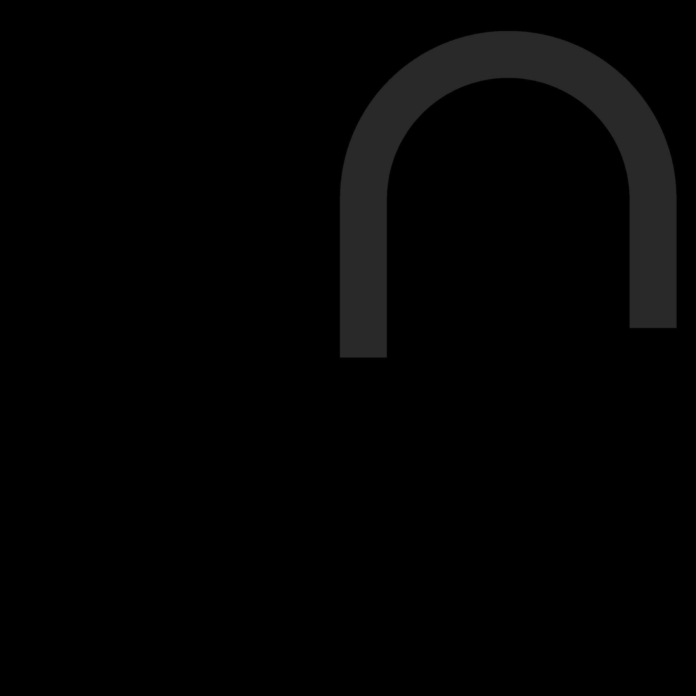Silhou big image png. Padlock clipart unlocked padlock