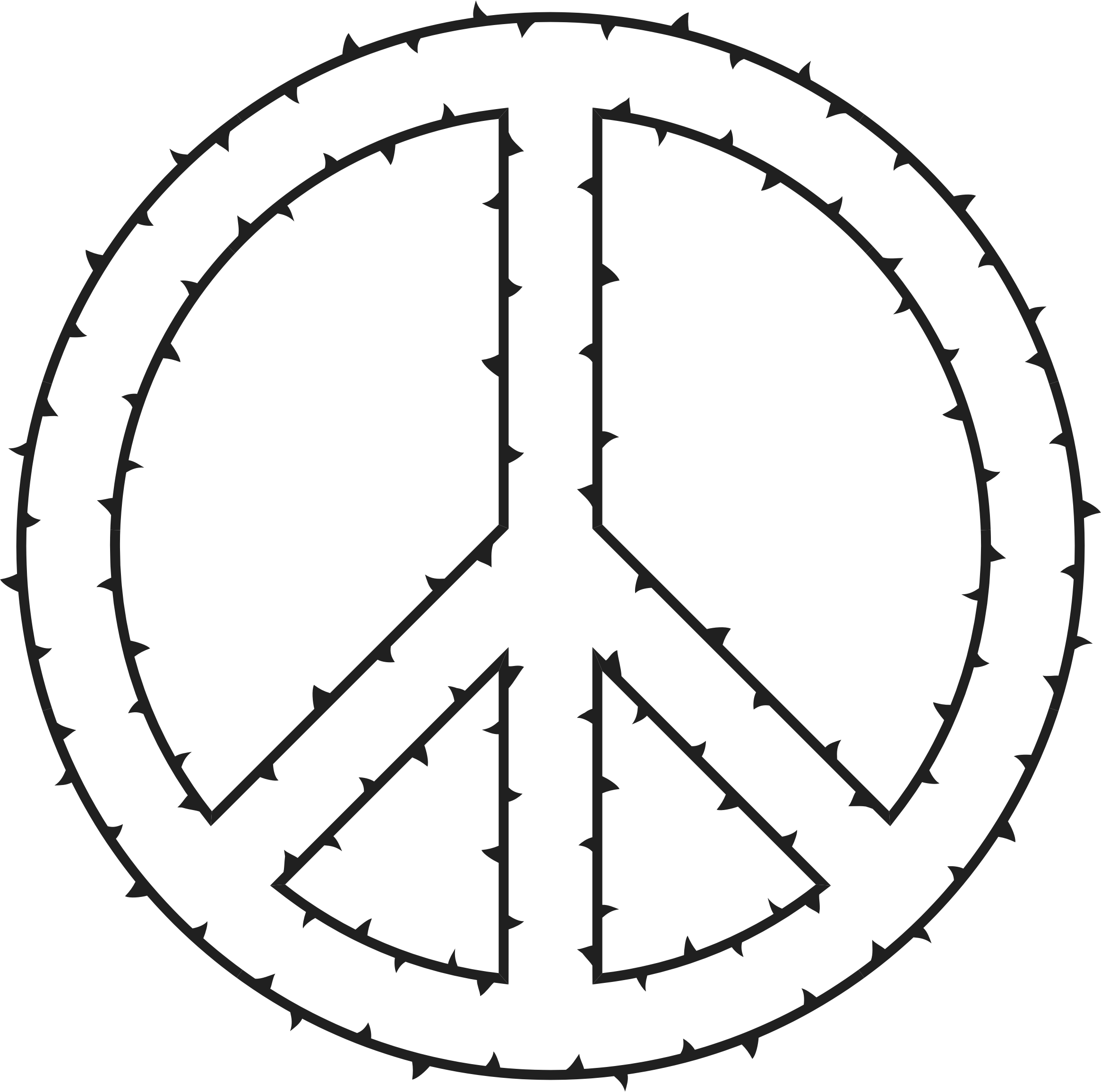 Peace clipart rite. Sign of thorns big