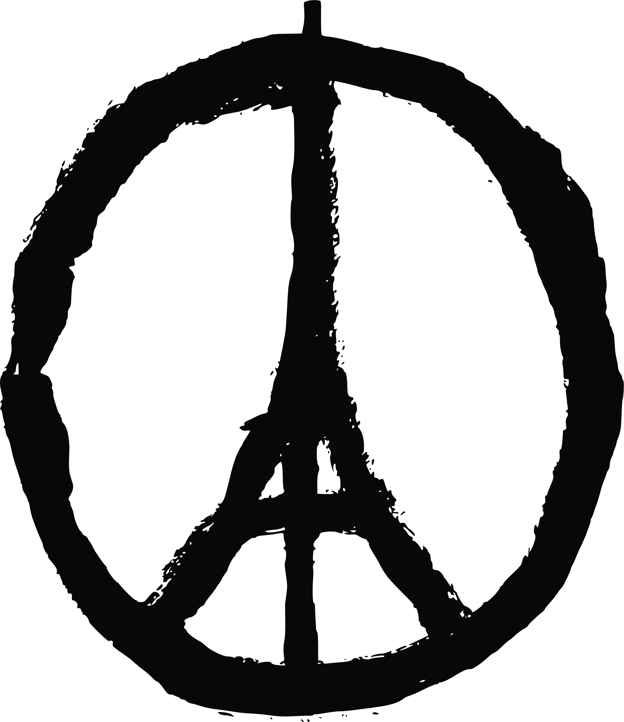 For paris big image. Peace clipart symbolism