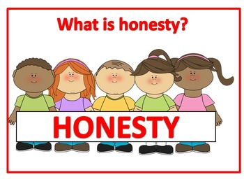 Honesty clipart total. Character education