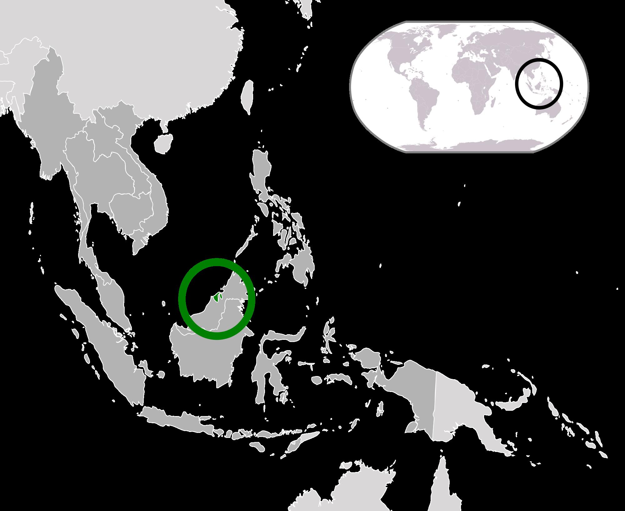 Brunei wikipedia of greenin. Location clipart absolute location