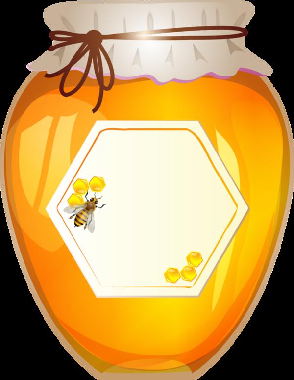 Honey jar clip art. Clipart kitchen kitchen worker