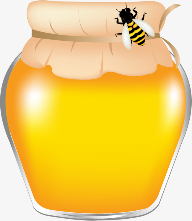 Jar honeybee cartoon png. Honey clipart
