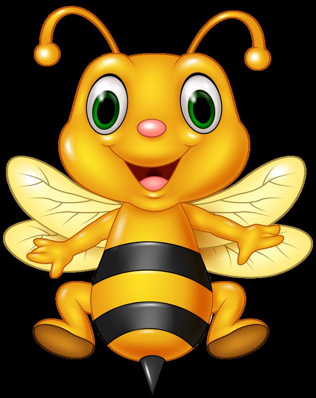 Honey clipart animal home. Funny cartoon animals vector