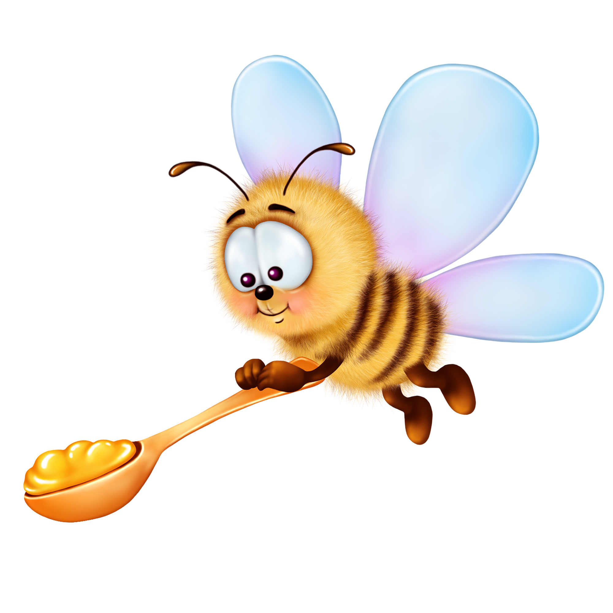 Bee clip art pest. Honey clipart animal home