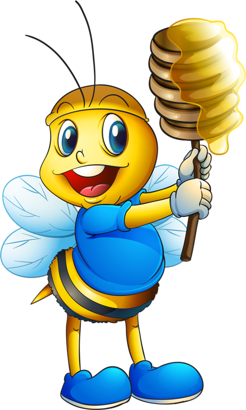 Kids clipart bee. Abeilles png scrap booking