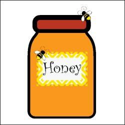 Honey clipart clip art. Jar library