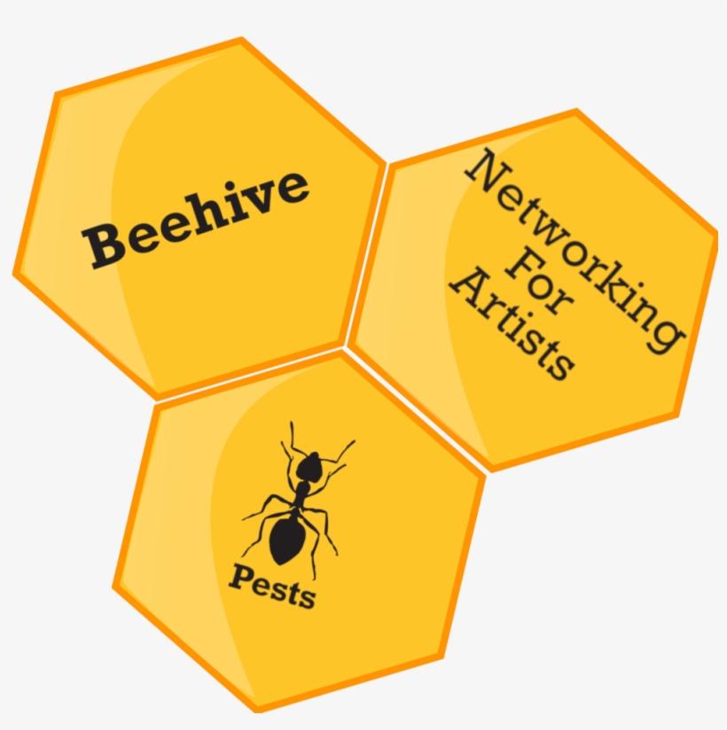 Honey clipart combs. Beehive logo bee comb