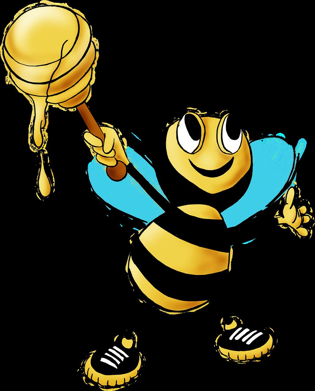 Honey clipart honey cake. Bee olio olive oil