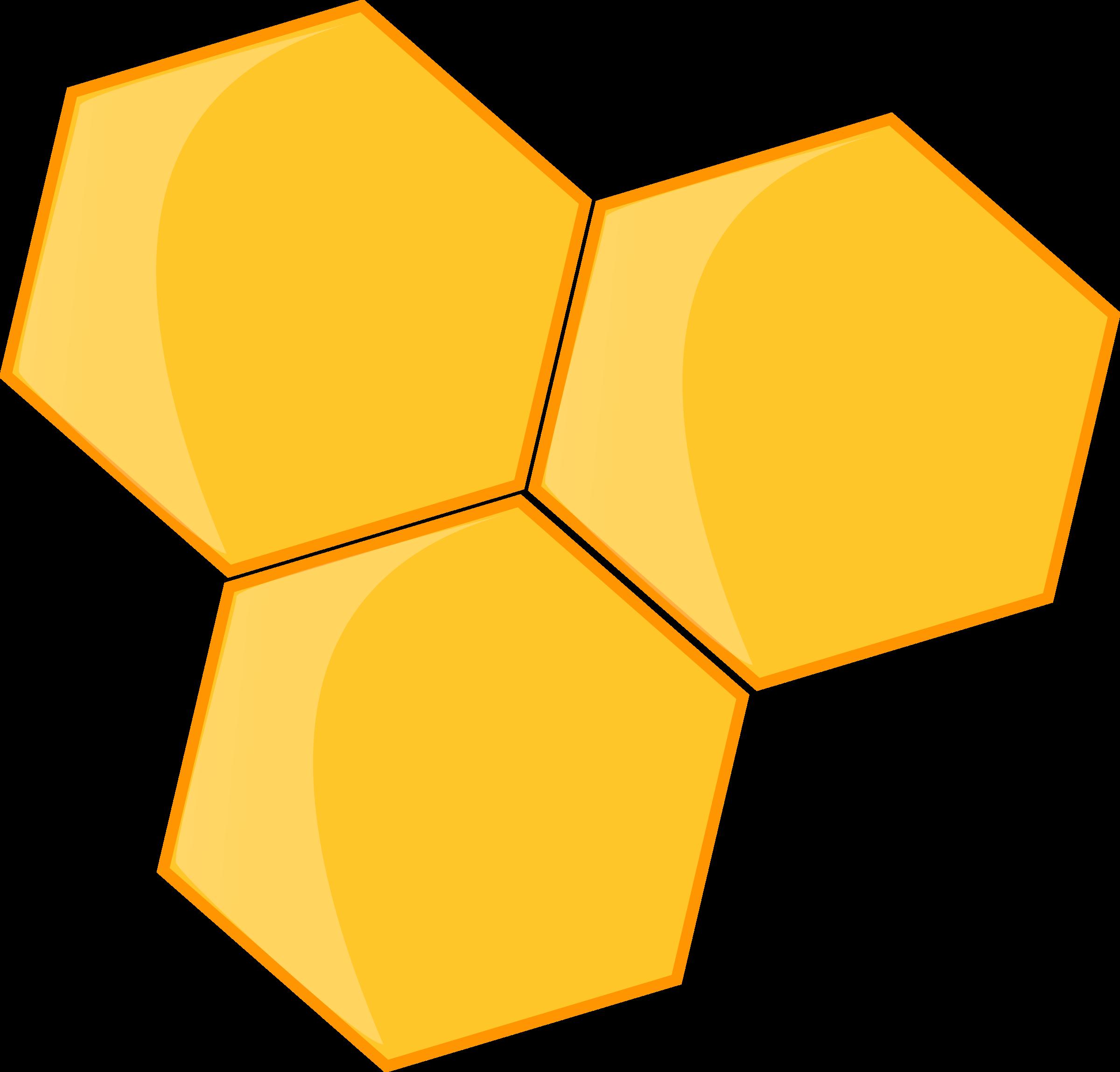 honey huge freebie. Honeycomb clipart bee cell