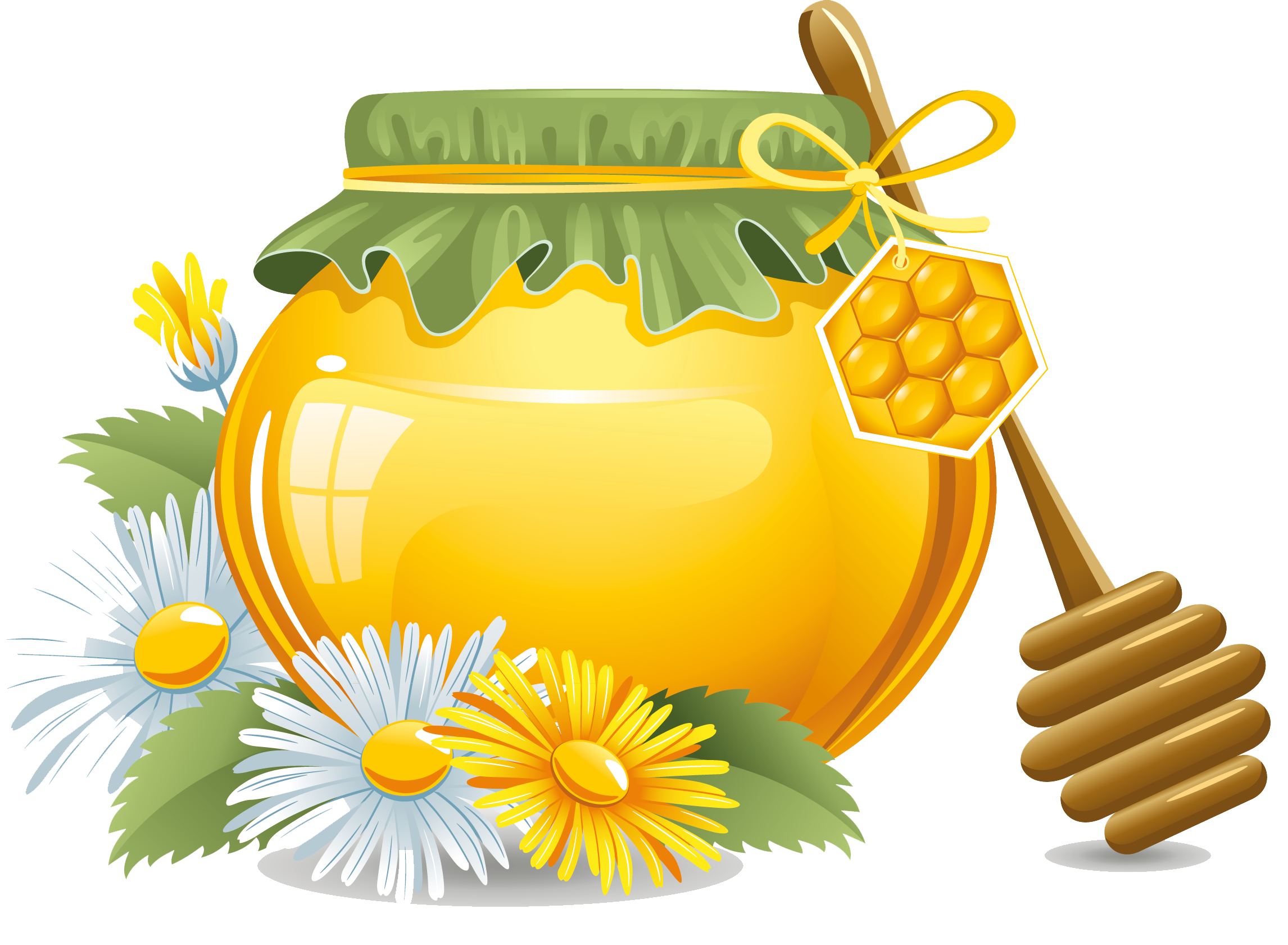 Honey clipart honey jar. Bee transprent png free