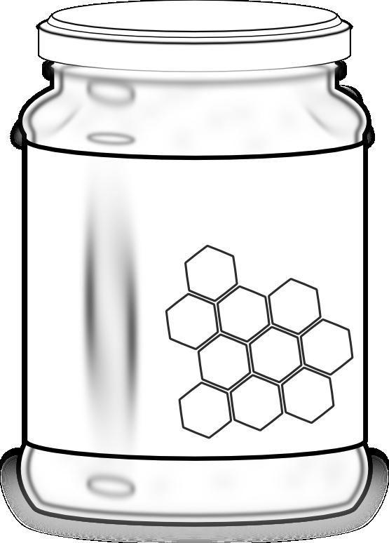 Clipartist net clip art. Honey clipart honey jar