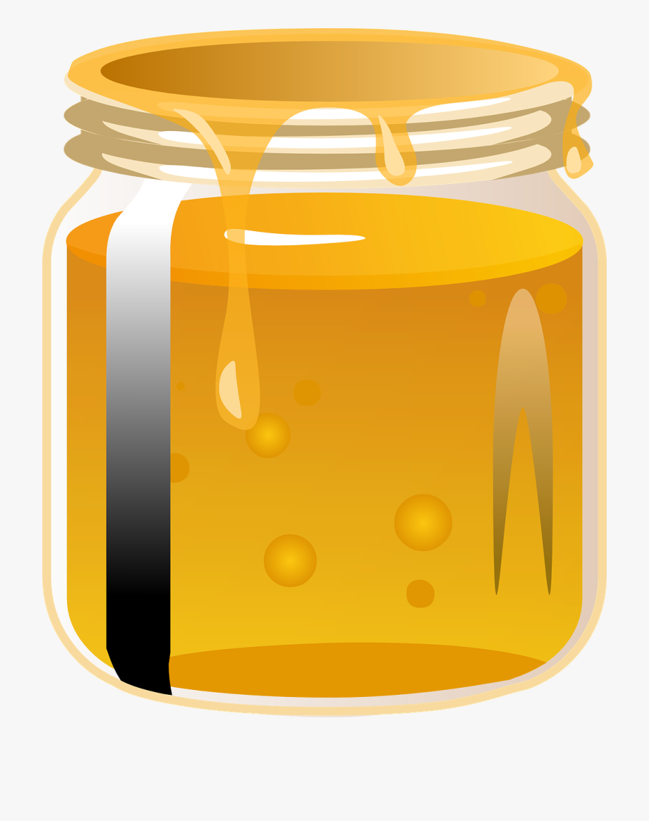 Regular of png free. Honey clipart honey jar