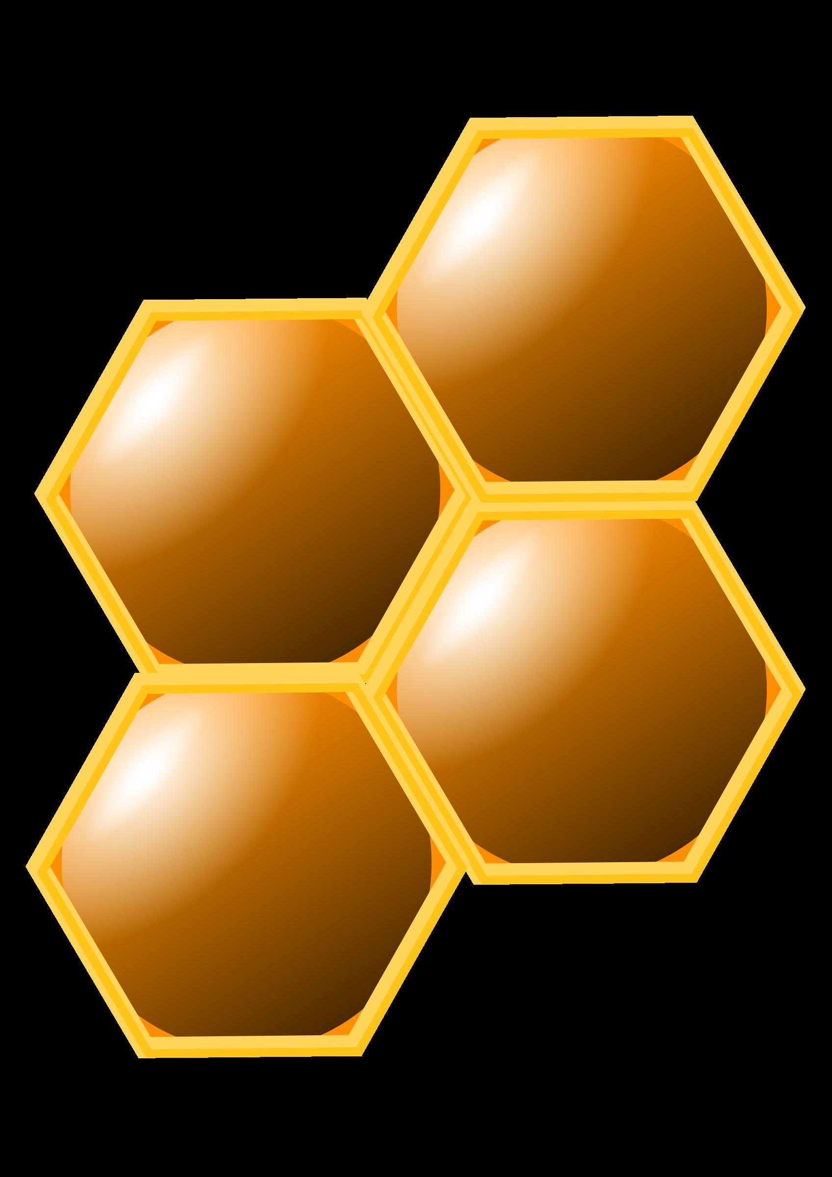 honeycomb clipart honey comb