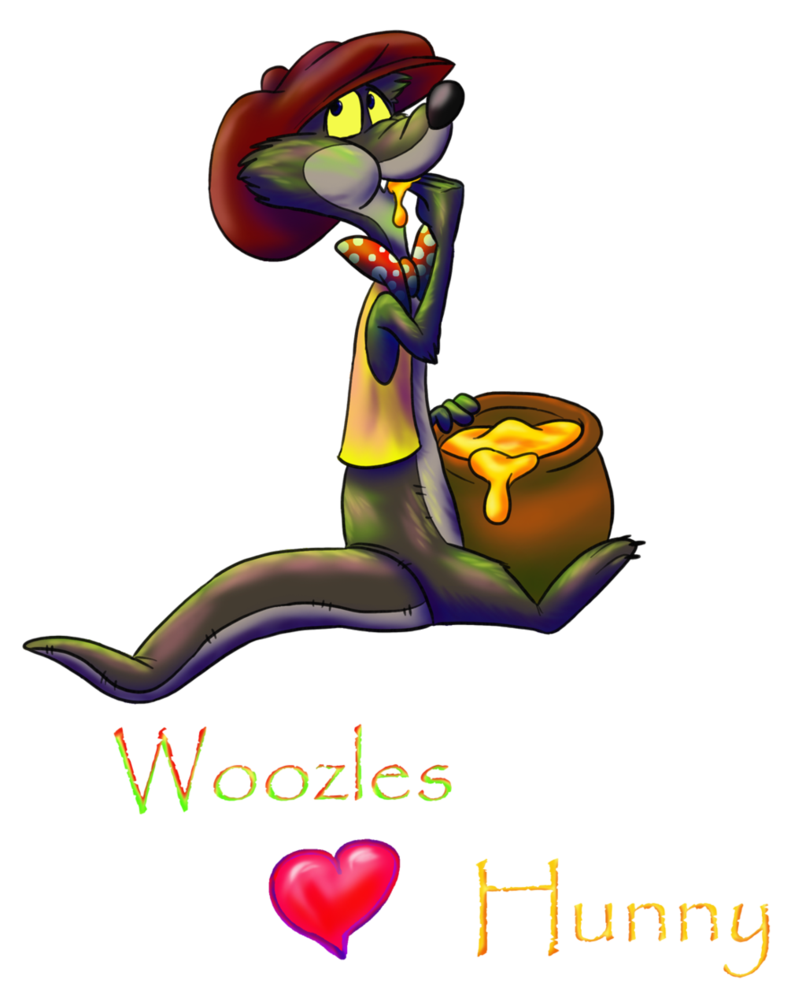 Woozles love by stanhoneythief. Honey clipart hunny