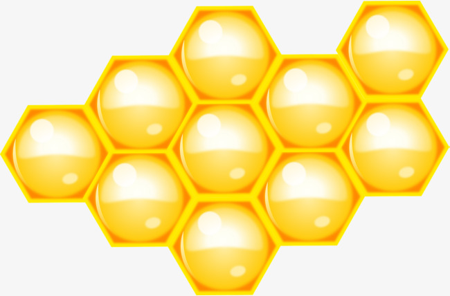Golden honey bee png. Honeycomb clipart