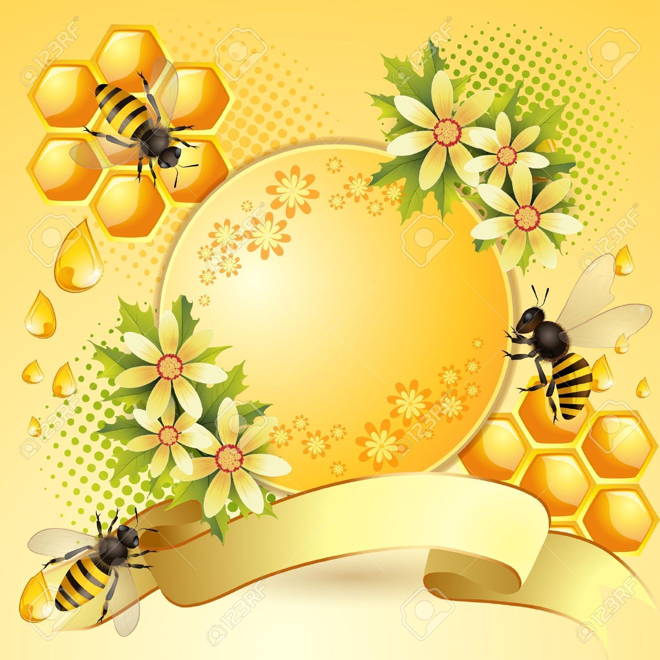 X . Honeycomb clipart bee pollination
