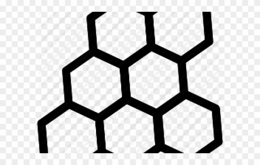 Benzil png download . Honeycomb clipart beeswax