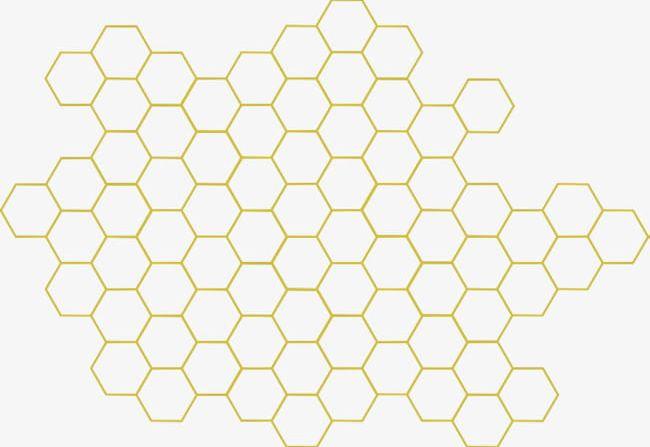 Honeycomb clipart geometric. Png bee