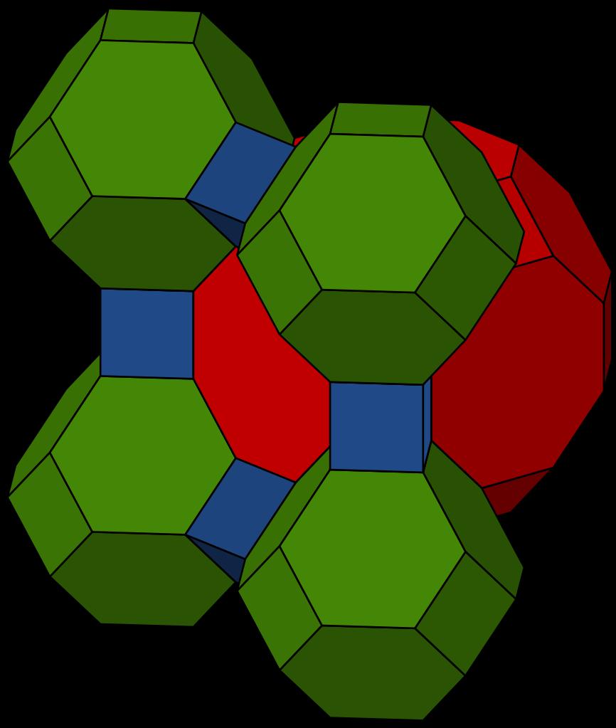 Honeycomb clipart geometric. File cantitruncated cubic svg