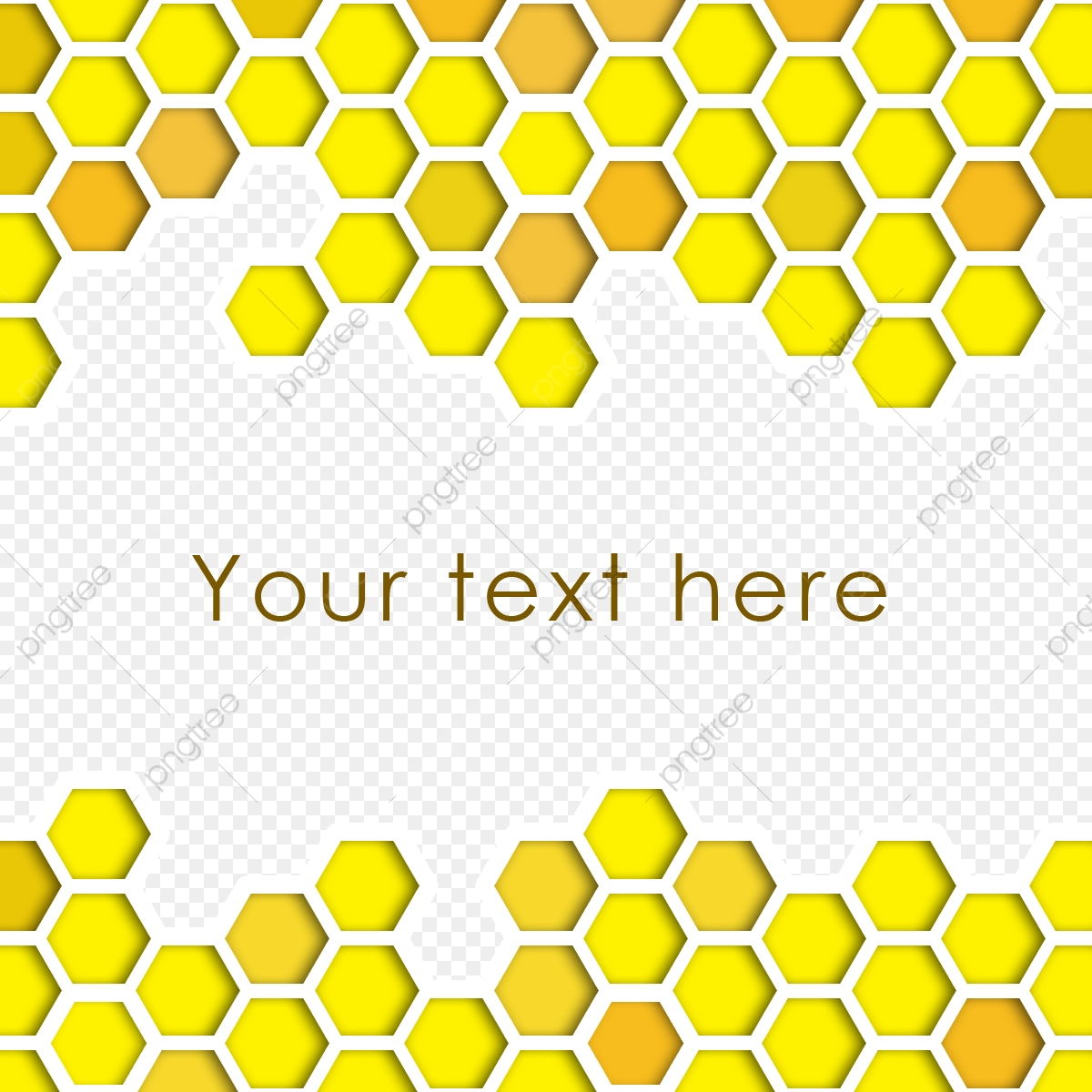 Bee hive background with. Honeycomb clipart geometric