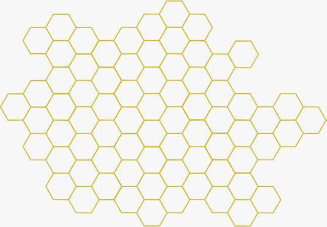 Honey bee sweet png. Honeycomb clipart geometric