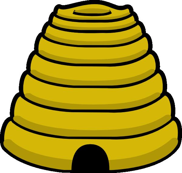 Beehive clip art at. Honeycomb clipart honey comb
