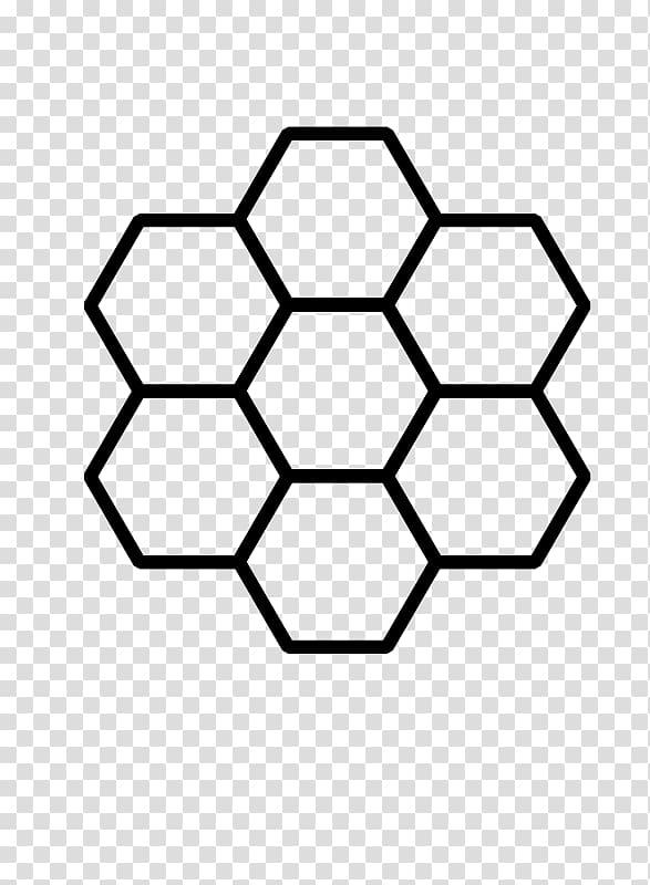 Black hexagon formation illustration. Honeycomb clipart honeycomb design