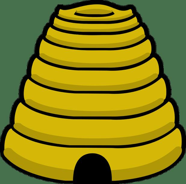Cartoon pictures of honey. Honeycomb clipart hornet nest