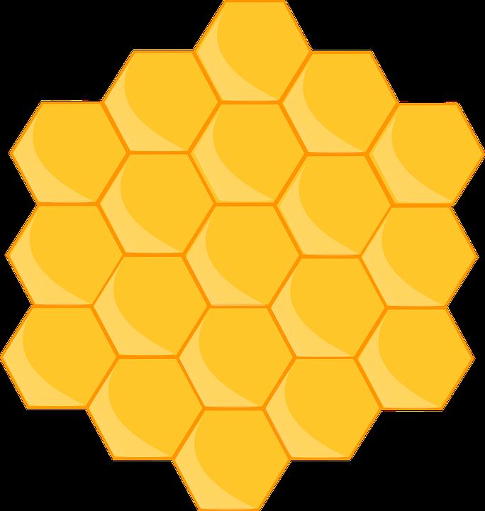 Honeycomb clipart print paper. O show da luna