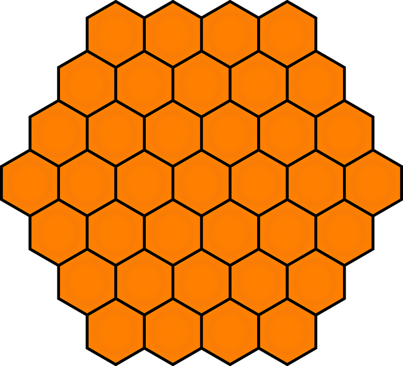 Painting gallery stock photos. Honeycomb clipart single